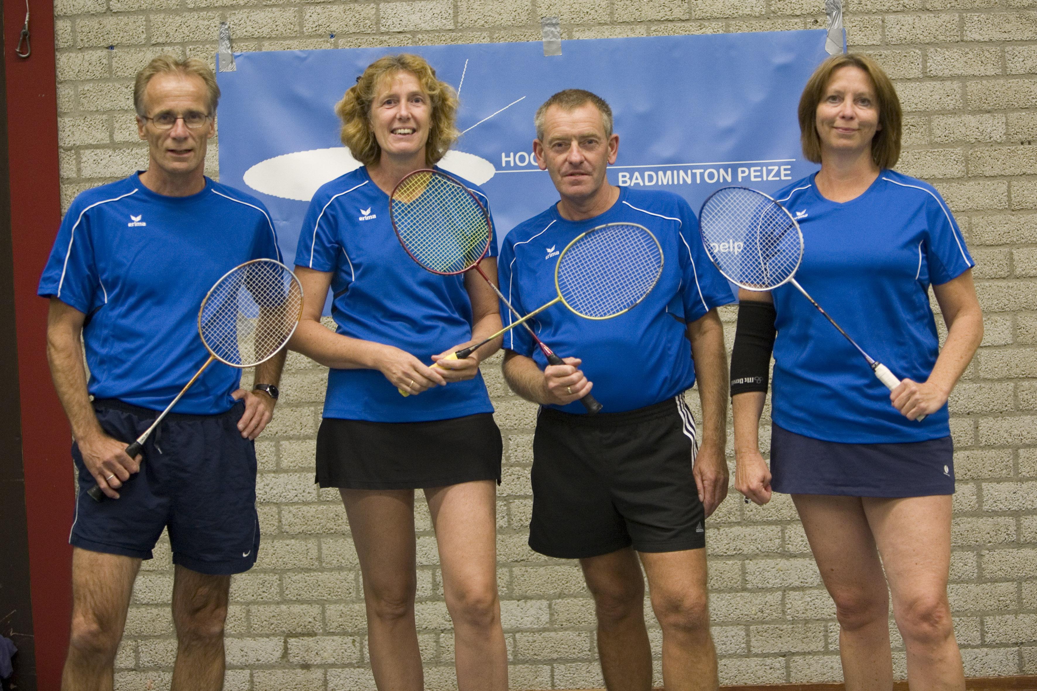 Competitie @ www.hoogspelpeize.nl Badminton Nederland Competitie
